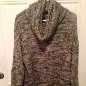 H&M  Small Cowl Neck Oversized Tunic Sweater